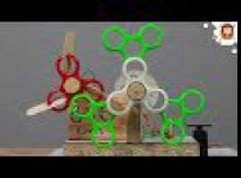 Jak zrobić maszynę do baniek mydlanych z fidget spinnerów