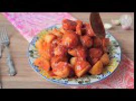 Jak zrobić ziemniaki po algiersku - chtitha batata