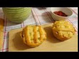 Jak zrobić tartaletki z boczkiem i kiełbasą