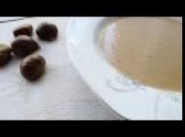 Jak zrobić kremową zupę z kasztanów jadalnych