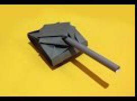 Jak zrobić czołg z papieru - szybkie origami