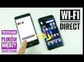 Jak wysyłać duże pliki przez Wi-Fi Direct w szybki sposób