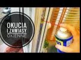 Jak konserwować okna - okucia i zawiasy okienne