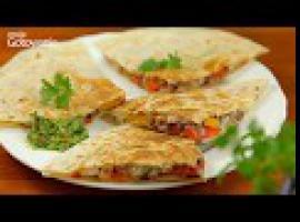 Jak zrobić danie z kurczakiem genialne quesadillas