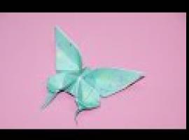 Jak złożyć motyla z papieru - ładny i prosty
