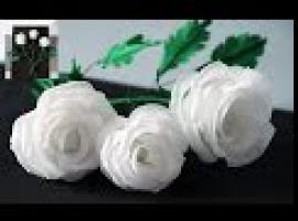 Jak zrobić róże z chusteczek jednorazowych