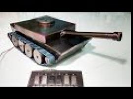 Jak zbudować zdalnie sterowany elektryczny czołg