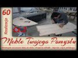 Jak zrobić rozsuwane i półokrągłe blaty do stołu - klejonki #2