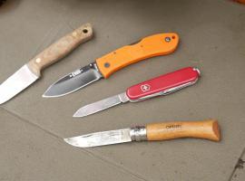 Jak używać małego noża w terenie