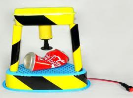 Jak zrobić prasę hydrauliczną w wersji zabawkowej
