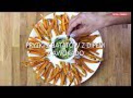 Jak zrobić frytki z batatów plus sos awokado