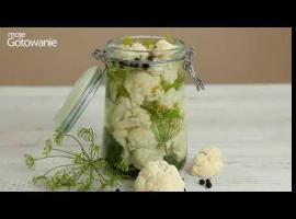 Jak zrobić kalafiora kiszonego - przetwory na zimę