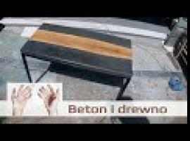 Jak zbudować stolik kawowy - drewno, beton i stal