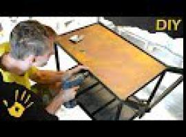 Jak zbudować ogrodowy barek z drewnianym blatem