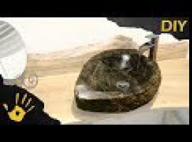 Jak zrobić umywalkę z kamienia polnego