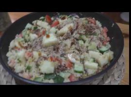 Jak zrobić obiad - szarpana świnka z kuskusem