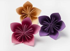 Jak składać kwiaty z papieru - kusudama origami
