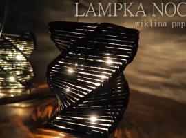 Jak zrobić lampkę nocną z papierowej wilkiny