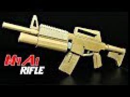 Jak zbudować w strzelający karabin M4A1 z kartonu