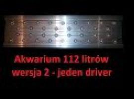 Jak zrobić belkę LED do akwarium 112 litrowego