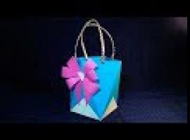 Jak zrobić papierową torebkę na prezent