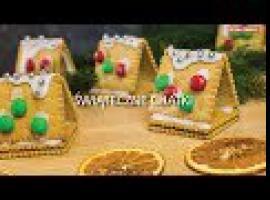 Jak zrobić świąteczne słodkości - chatki z herbatników