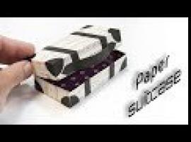Jak zrobić walizkę z papieru - papierowe zabawki