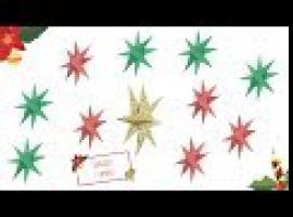 Jak zrobić podwójną gwiazdę z papieru