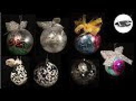 Jak pomalować bombki - 6 pomysłów