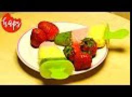 Jak zrobić lody domowe - owocowe z mascarpone i miodem