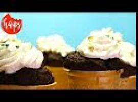 Jak zrobić babeczki buraczane w wafelkach
