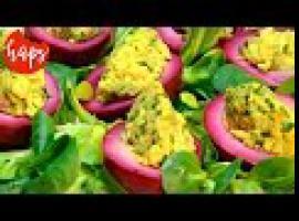 Jak zrobić jajka z farszem awokado