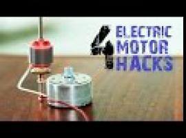 Jak zrobić 4 kreatywne rzeczy z silniczków elektrycznych