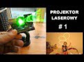 Jak zbudować projektor laserowy sterowany muzyką #1