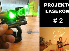 Jak zbudować projektor laserowy sterowany muzyką #2