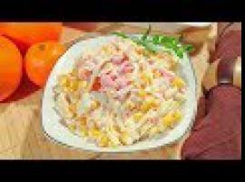 Jak zrobić sałatkę po hawajsku z szynką