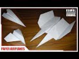 Jak składać samoloty z papieru - 3 propozycje