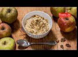 Jak zrobić śniadanie - owsianka z szarlotką z 5 składników