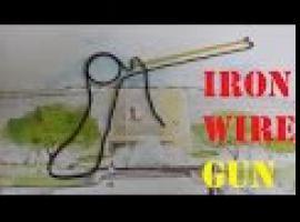 Jak zrobić pistolet na gumki z drutu