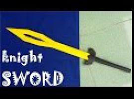 Jak zrobić miecz z papieru - rycerska zabawka