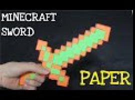 Jak zrobić gadżet z Minecrafta - kartonowy miecz