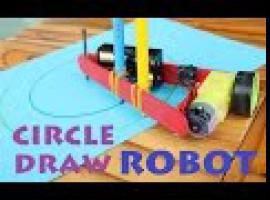 Jak zbudować robota rysującego okręgi