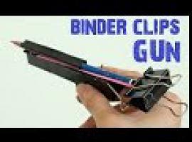 Jak zrobić fajny pistolet z klipsów biurowych