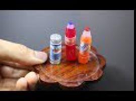 Jak zrobić miniaturki butelek z kleju na gorąco