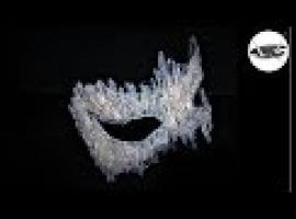 Jak zrobić lodową maskę z kleju na imprezę karnawałową