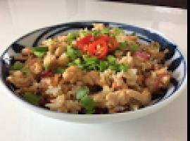 Świetny przepis na smażony ryż z cytrynowym kurczakiem
