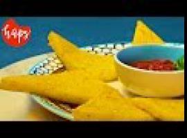 Jak zrobić pyszne trójkąciki ze smażonej polenty