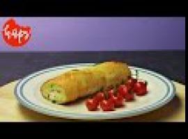 Jak przygotować coś dobrego - bagietka z serem i boczkiem