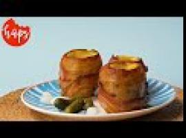 Jak zrobić ziemniaka z fondue - wypasione męskie żarcie
