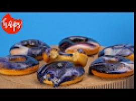 Jak zrobić galaktyczne donuty